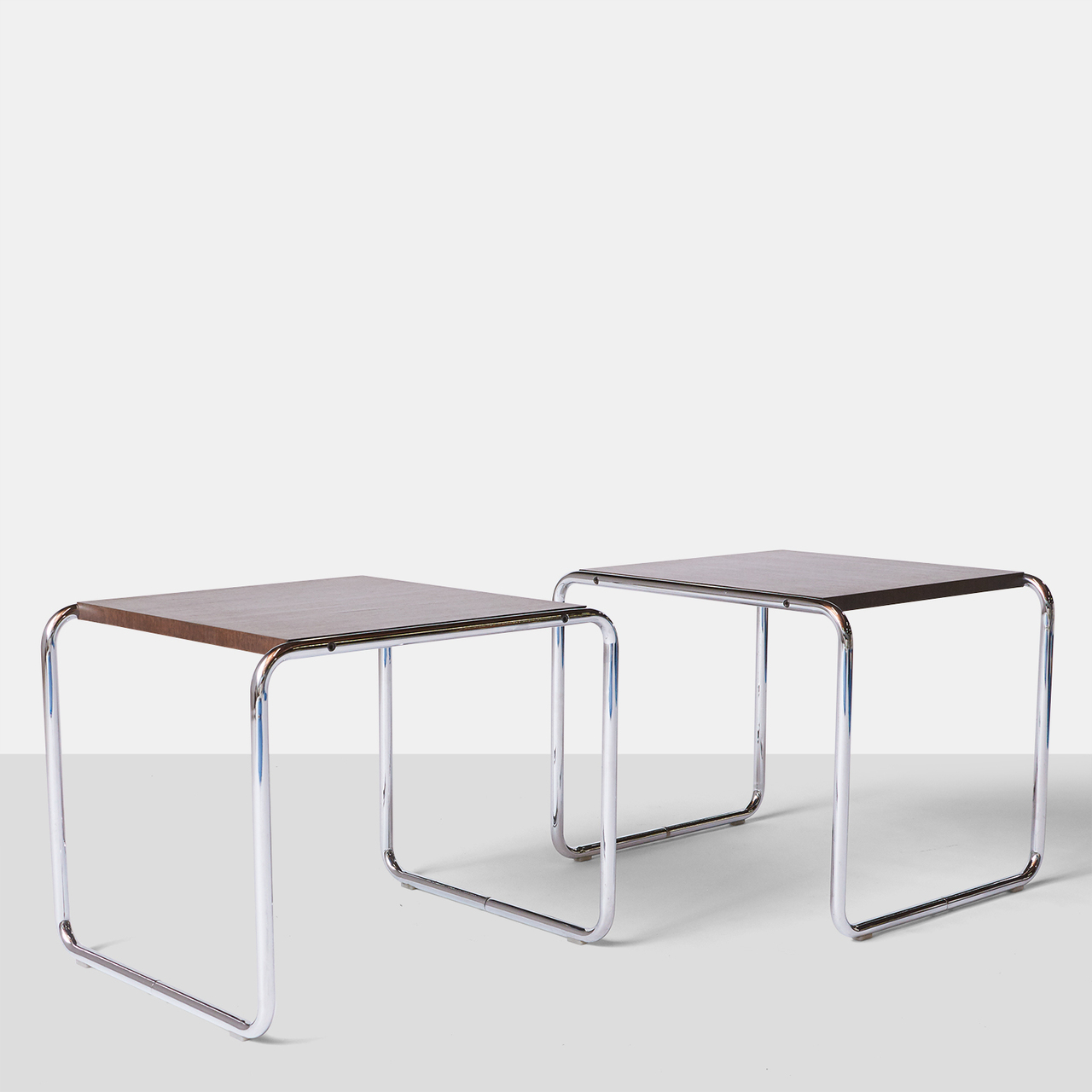 Pair Of Laccio Tables By Marcel Breuer Almond And Company